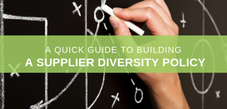 supplier diversity policy