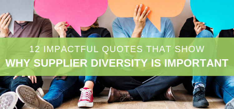 Why supplier diversity is importance